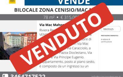 Bilocale Cenisio – Mac Mahon