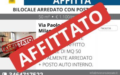 Bilocale Via Paolo Lomazzo