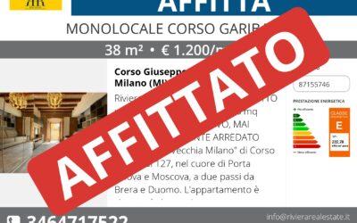 Monolocale in affitto in Corso Garibaldi