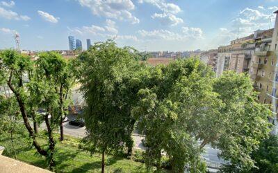 Bilocale panoramico in vendita zona Mac Mahon – Cenisio